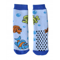 TODDLER NO SKID SOCKS WITH FISHES